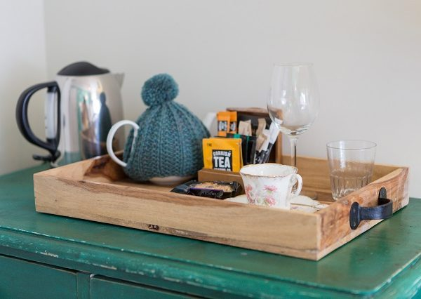 Room tea tray