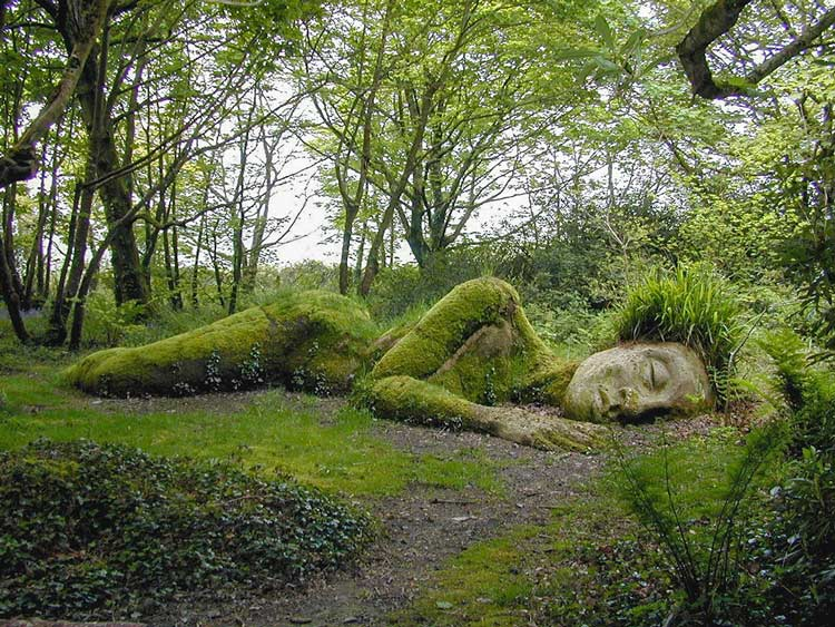 Lost Gardens of Helligan Sculpture